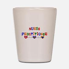 Nurse practitioner 2 Shot Glass