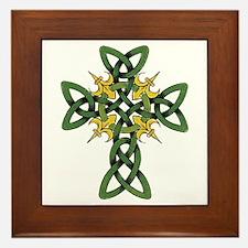 Irish Cross Framed Tile