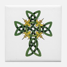 Irish Cross Tile Coaster