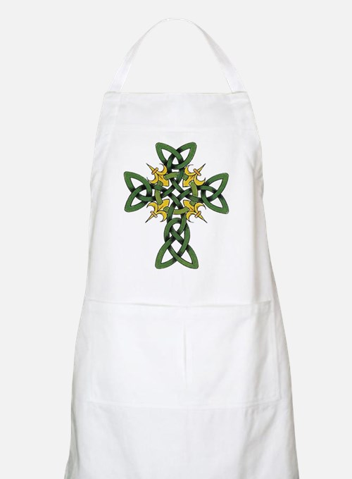 Irish Cross BBQ Apron