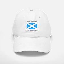 Scottish Parts Baseball Baseball Cap