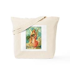 Peace On Earth - Angel Tote Bag