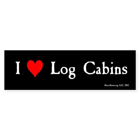 I (heart) Log Cabins - AH.BMP
