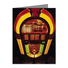 Jukebox Note Cards (Pk of 10)