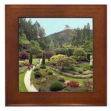 Garden Walk Framed Tile
