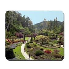 Garden Walk Mousepad