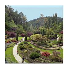 Garden Walk Tile Coaster