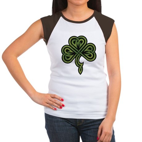 Irish Shamrock Women's Cap Sleeve T-Shirt