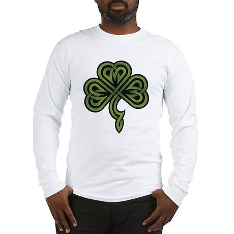 Irish Shamrock Long Sleeve T-Shirt