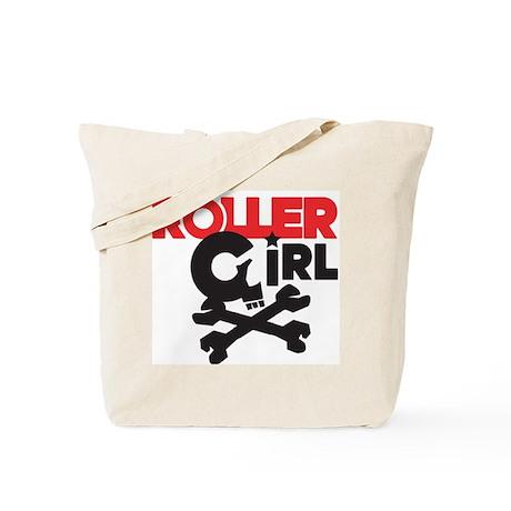 Rollergirl Skull Logo Tote Bag