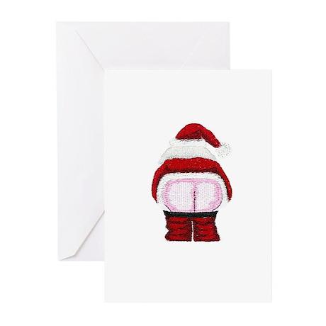 Santa Moon Greeting Cards (Pk of 10)