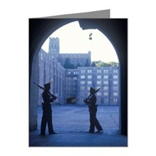 """""""Two Cadets Patrolling, West Note Cards (Pk of 20)"""