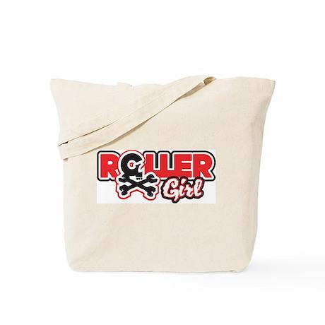 The Original Rollergirl Skull Tote Bag