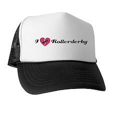 I Heart Rollerderby! Trucker Hat