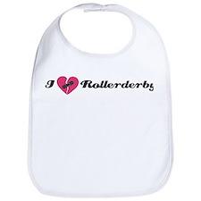 I Heart Rollerderby! Bib