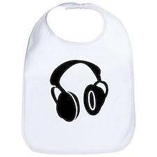 DJ Headphones Bib