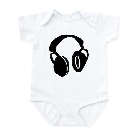 DJ Headphones Infant Bodysuit