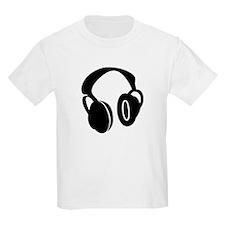 DJ Headphones Kids T-Shirt