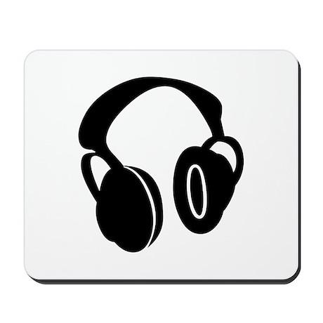 DJ Headphones Mousepad