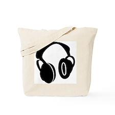 DJ Headphones Tote Bag