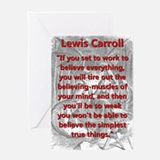 If You Set To Work - L Carroll Greeting Cards