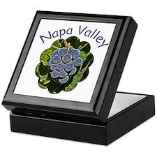 Napa Valley Grapes - Tile Gift Box