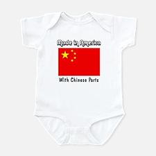 Chinese Parts Infant Bodysuit