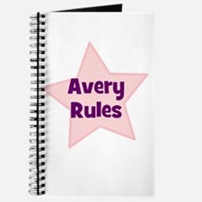 Avery Rules Journal