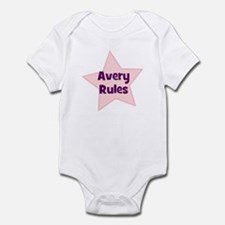 Avery Rules Infant Bodysuit