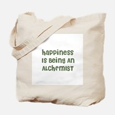 Happiness Is Being An ALCHEMI Tote Bag