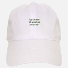 Happiness Is Being An ALCHEMI Baseball Baseball Cap