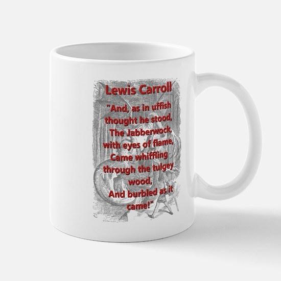 Jabberwocky 4 - L Carroll Mugs