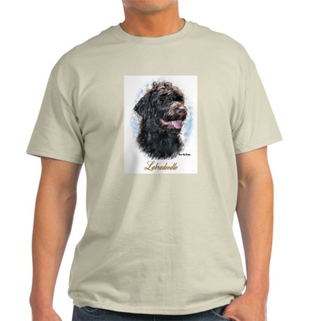 Labradoodle Art Light T-Shirt