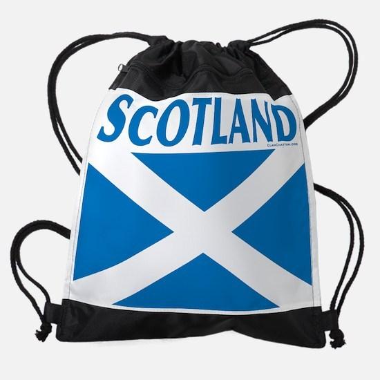 StAScotlandLtBlue10x8.jpg Drawstring Bag