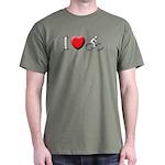 RUN BIKE SWIM Dark T-Shirt