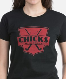 Field Hockey Chicks With Sticks T-Shirt