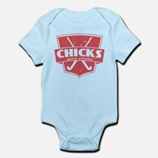 Field Hockey Chicks With Sticks Body Suit