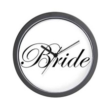 Bride's Wall Clock