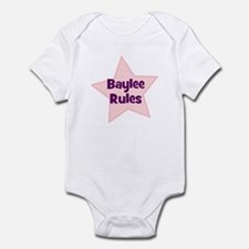 Baylee Rules Infant Bodysuit
