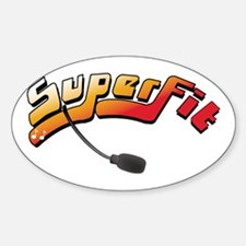 'Superfit' Oval Decal