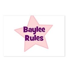 Baylee Rules Postcards (Package of 8)