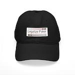 Legalize Poker Black Cap