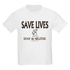 Spay & Neuter (dog) Kids T-Shirt