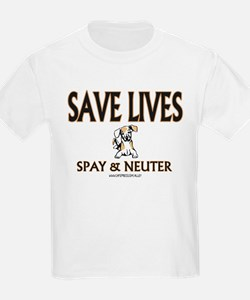 Spay & Neuter (dog) Kids T-Shirt