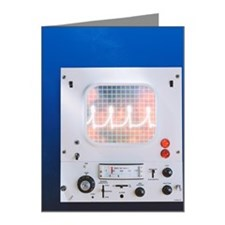Electrocardiograph Machine Note Cards (Pk of 20)