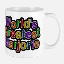 Worlds Greatest Marjorie Mugs