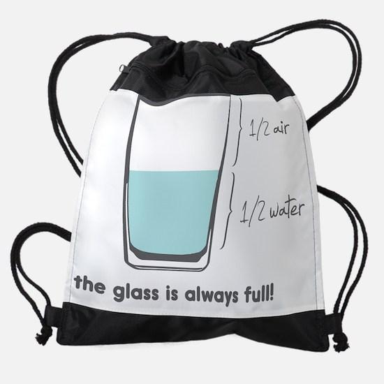 always full.png Drawstring Bag