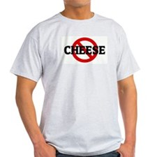 Anti CHEESE Ash Grey T-Shirt