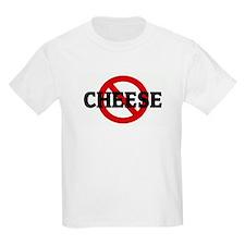 Anti CHEESE Kids T-Shirt