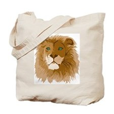 Realistic Lion Tote Bag
